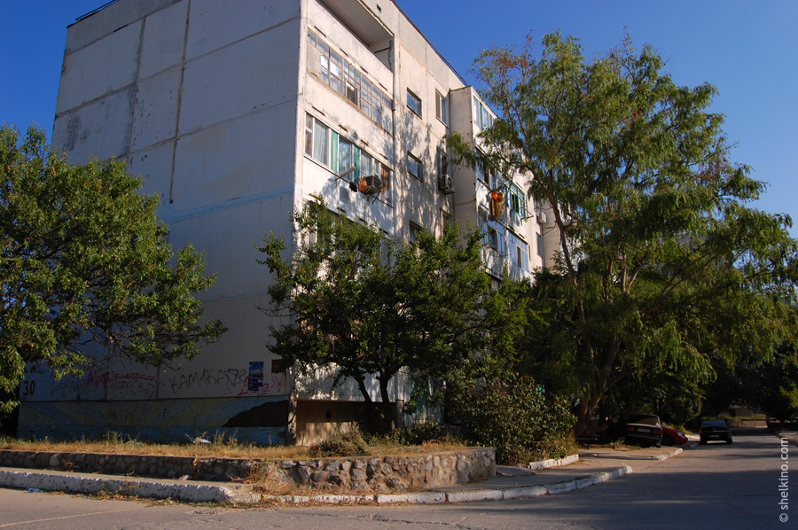 Щелкино, дом 30. Вид с юга, со стороны дома 21