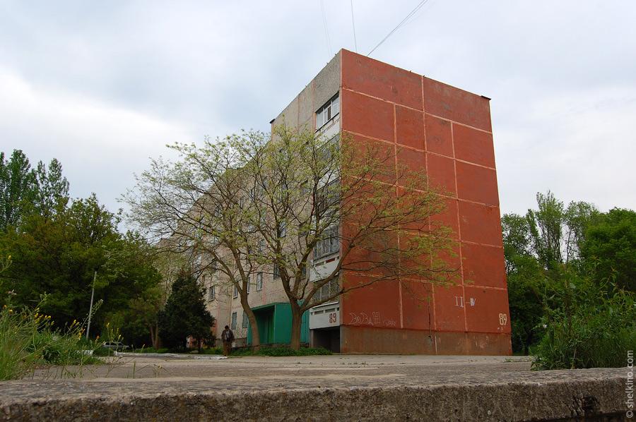 Щелкино, дом 89. Вид со стороны дома 91/1.
