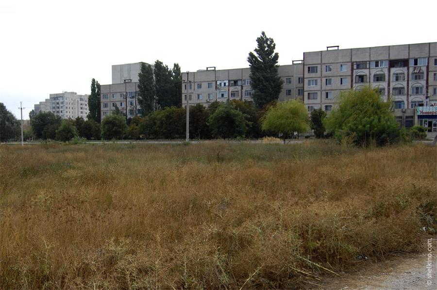 Щелкино, дом 90. Вид с запада, со стороны моря.