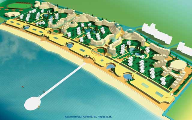 Щелкино, проект Арабатская миля