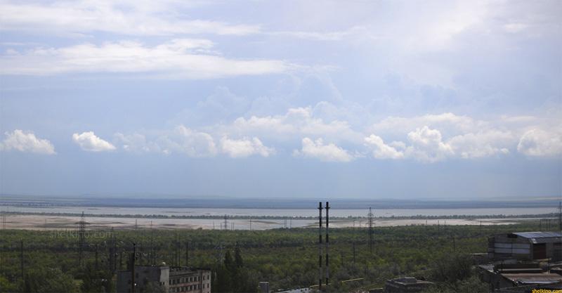Вид на Акташское озеро
