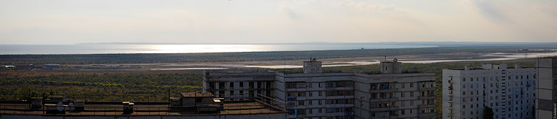 Щелкино, Казантипский залив утром
