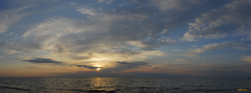 Закат в Щелкино